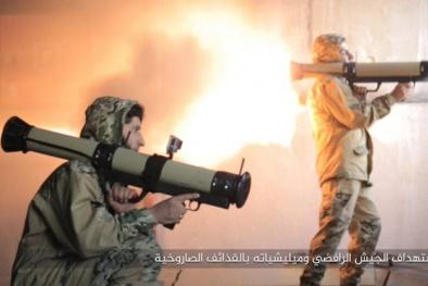 Sốc trước vũ khí chống tăng 'công nghệ cao' tự chế của IS