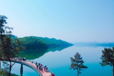Du lịch hồ Kẻ Gỗ không đồng với trải nghiệm mới mẻ của hè 2017