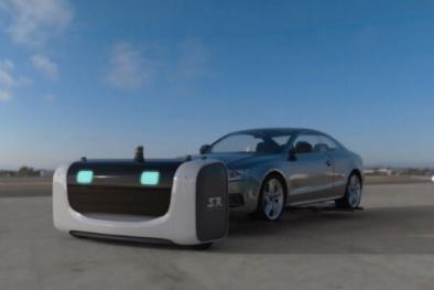 Kiếm được 4 triệu USD nhờ tạo ra robot giúp đỗ xe tự động