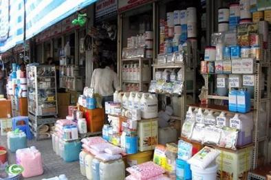 Hóa chất ở chợ mua bán 'thần chết' có mặt ở nhiều cơ sở cung cấp thức ăn