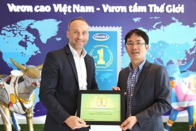 Vinamilk 3 năm liên tiếp đạt thương hiệu được lựa chọn nhiều nhất ở Việt Nam