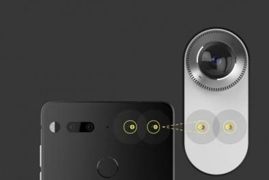 Cận cảnh smartphone cao cấp mới, thiết kế lạ 'cha đẻ' Android vừa cho ra mắt