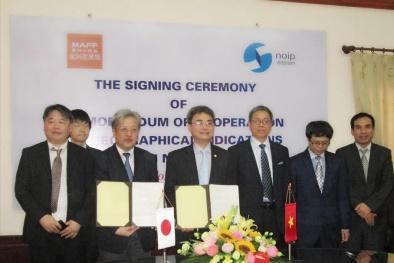 Việt Nam – Nhật Bản đẩy mạnh hợp tác về chỉ dẫn địa lý