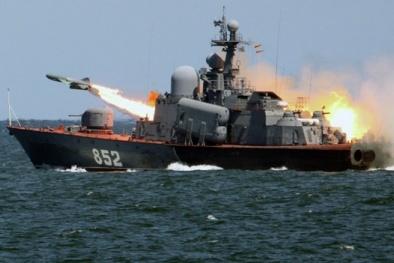 Lộ diện tàu hộ vệ tên lửa 'vô song' mới nhất của Hải quân Nga