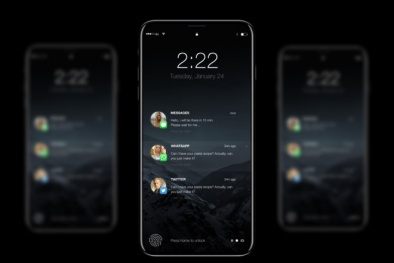 'Sốt xình xịch' với những tiết lộ quan trọng về Iphone 8