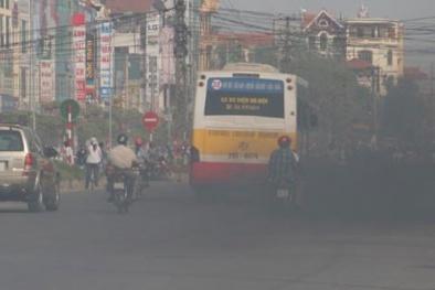 Thủ phạm gây ô nhiễm không khí đáng báo động ở Thủ đô