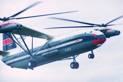 Trực thăng Mil Mi-12: 'Quái vật' nặng 105 tấn giữ kỷ lục trong lịch sử hàng không