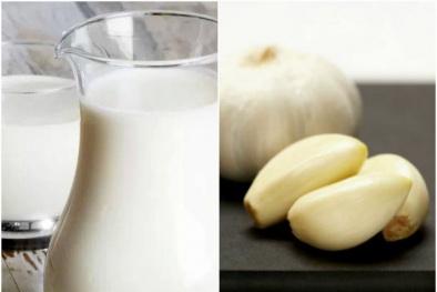 Uống sữa với tỏi mỗi ngày và chờ đợi 8 điều kỳ diệu bất ngờ xảy ra