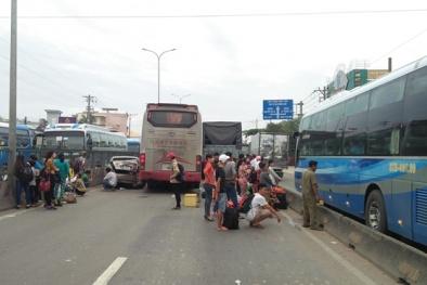 Tin mới nhất vụ tai nạn giao thông liên hoàn trên quốc lộ 1