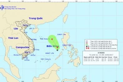 Tin tức mới nhất về áp thấp nhiệt đới trên biển Đông