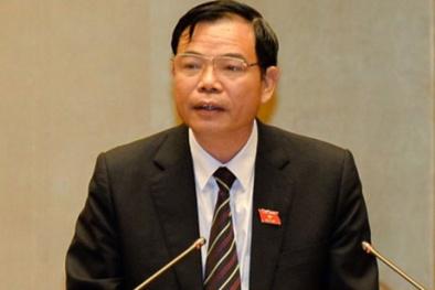 Bộ trưởng Bộ NN&PTNT nói gì khi ĐBQH chất vấn về tàu cá, nạn phân bón giả?