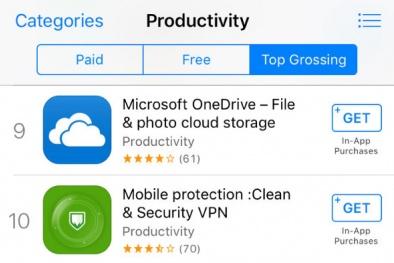 Phần mềm lừa đảo trên App Store kiếm 80.000 USD mỗi tháng