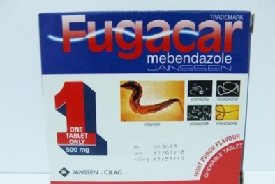 Cẩn trọng khi dùng thuốc tẩy giun Fugaca vì những tác dụng phụ đáng sợ