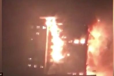 Cháy tòa tháp 27 tầng ở London: Đau xót khoảnh khắc đứa trẻ nhảy từ tầng 22 xuống