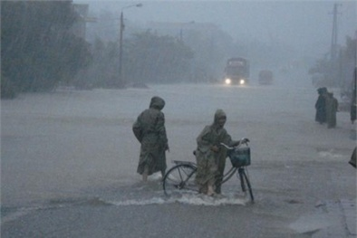 Dự báo thời tiết: Cảnh báo mưa lớn trên diện rộng ở Bắc Bộ
