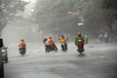 Tin dự báo mưa lớn ở Bắc Bộ và lũ quét ở vùng núi phía Bắc
