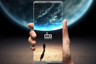 Galaxy Note 8 không có cảm biến vân tay nhúng trong màn hình vì lý do này