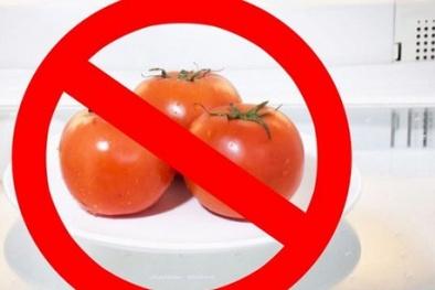 Đây chính là lý do vì sao không nên bảo quản cà chua trong tủ lạnh