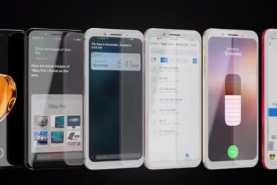Phác họa Iphone 8 dựa trên lời đồn đẹp 'long lanh'