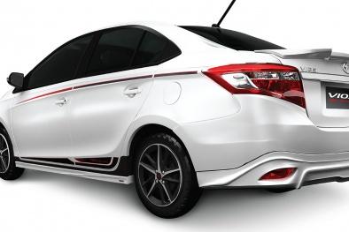 Toyota Việt Nam ra mắt Vios mới giá 644 triệu đồng