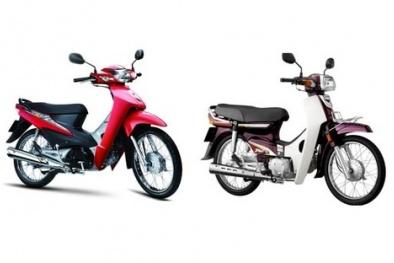 'Cân tài cân sức' hai chiếc xe số Honda Super Dream và Honda Wave Alpha