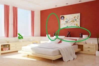 Giường ngủ được đặt ở những vị trí này, sức khỏe, tài lộc của gia đình bạn cứ mãi hao hụt