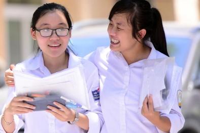 Đáp án đề thi môn Toán tốt nghiệp THPT quốc gia năm 2017 mã đề 121, 122, 123, 124