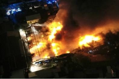 Cháy lớn kho hàng cảng Sài Gòn: Tiết lộ nguyên nhân vụ việc