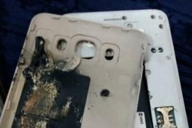 Samsung Galaxy J7 2016 bất ngờ nổ khiến cô bé 4 tuổi sợ 'chết khiếp'