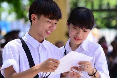 Tỉnh Thái Nguyên công bố điểm thi THPT Quốc gia 2017 chính thức