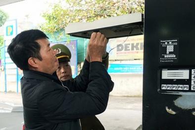 TP.HCM: Dán tem cơ sở kinh doanh xăng dầu chống gian lận và thất thu thuế