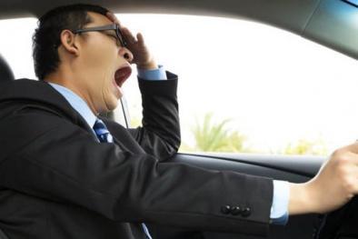 Cánh tài xế khỏi lo tai nạn nhờ hệ thống cảnh báo chống buồn ngủ mới