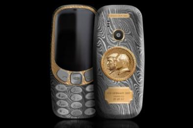 Chiếc điện thoại 3310 in hình ông Trump và ông Putin gây sốt trên thế giới