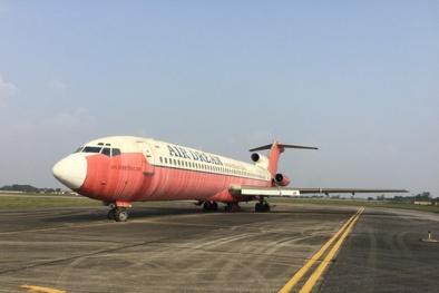 Xem nội thất máy bay Boeing 727-200 bị bỏ rơi 10 năm ở Nội Bài