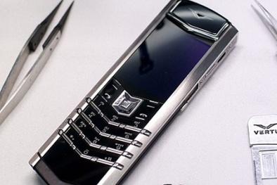 Hãng điện thoại siêu sang Vertu dừng sản xuất vì vỡ nợ