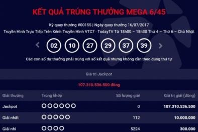 Xổ số Vietlott: Khách hàng 'thờ ơ' với giải Jackpot hơn 100 tỷ