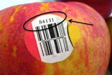 Chiếc tem 'nhỏ nhưng có võ' trên trái cây nhập khẩu tiết lộ cho bạn điều gì?