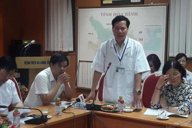 8 bệnh nhận tử vong khi chạy thận: Giám đốc BV Hòa Bình tiết lộ vì sao bây giờ mới từ chức