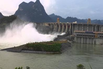 Cảnh báo về tình trạng mưa lũ lớn và xả lũ hồ thủy điện