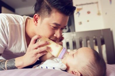Trào lưu '10 việc khi vợ sinh, chồng làm được bao nhiêu' được mẹ bỉm sữa thi nhau chấm điểm