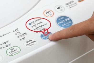 Chú ý ngay những kí hiệu này trên máy giặt này để quần áo luôn sạch và máy giặt được bền lâu