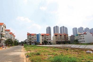 Đất nền nhà ở có mức tồn kho 3,3 triệu m2 với giá trị khoảng 13.000 tỷ đồng