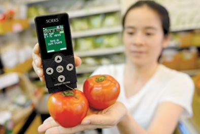 Thực hư công dụng thần thánh của máy đo độ an toàn thực phẩm