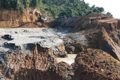 Công ty làm vỡ đập bùn thải ở Nghệ An bị phạt hơn 1 tỷ đồng