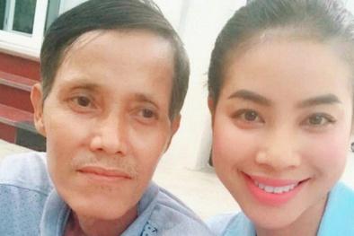 Bố qua đời, Hoa hậu Phạm Hương viết những dòng đầy nước mắt trên facebook
