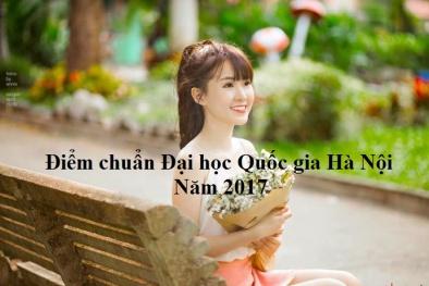 Điểm chuẩn các trường Đại học Quốc gia Hà Nội 2017 chính xác nhất