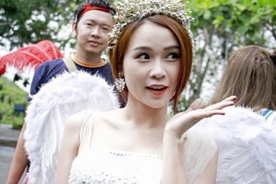 Chùm ảnh: Hot girl - diễn viên Sam 'quậy tưng' trên sóng truyền hình
