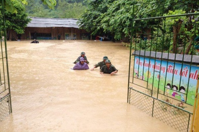Các tỉnh vùng núi phía Bắc thiệt hại nặng nề sau những trận lũ lớn