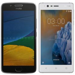 Moto G5 4,3 triệu và Nokia 3 giá 3,6 triệu: Bạn chọn cái nào?