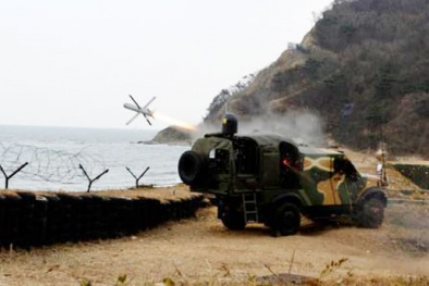 Hàn Quốc bất ngờ thử vũ khí bí mật có sức mạnh kinh hoàng